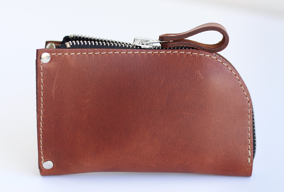 WEDNESDAY WALLET IN GINGER