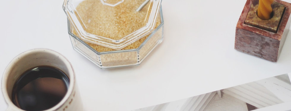 Octagon clear glass box with a lid