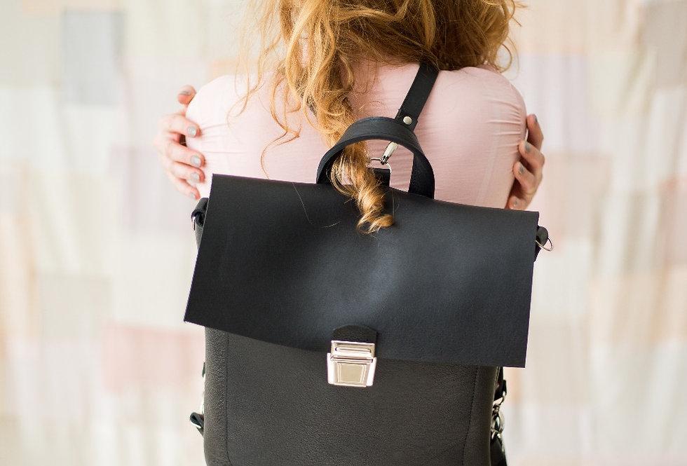 Eden backpack in black