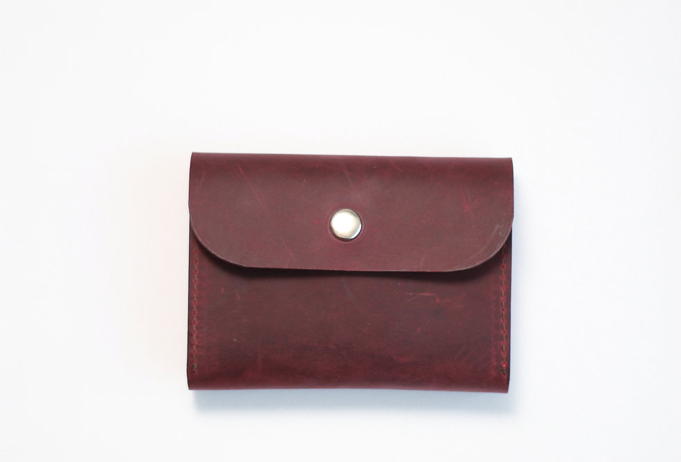 FRIDAY WALLET IN BURGUNDY