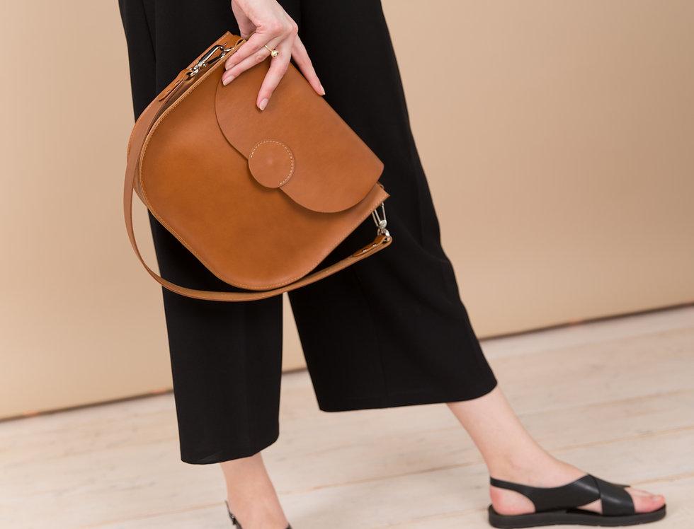 Fiona handbag in caramel