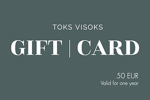 Toks Visoks gift card 50€