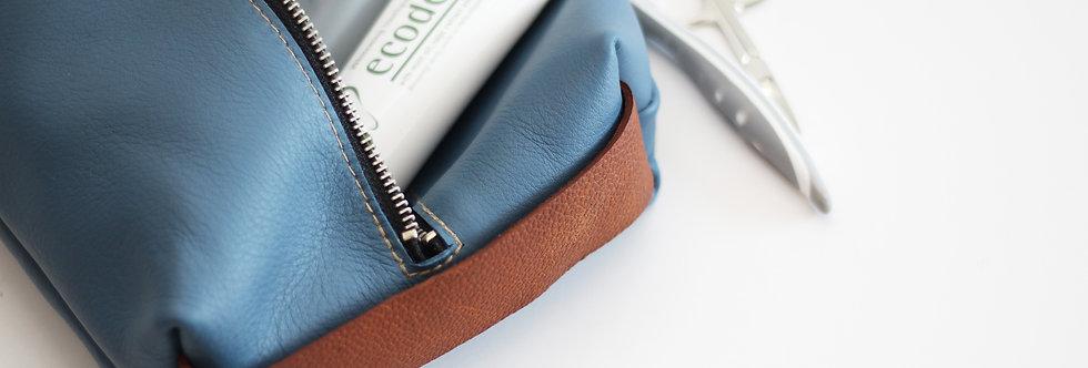 Leon dopp kit in blue