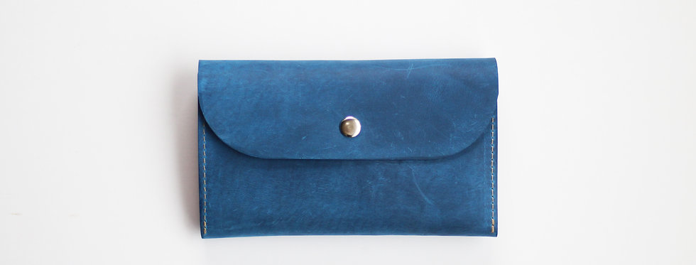 TUESDAY WALLET IN BLUE