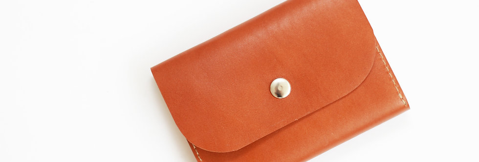 FRIDAY WALLET IN CARAMEL