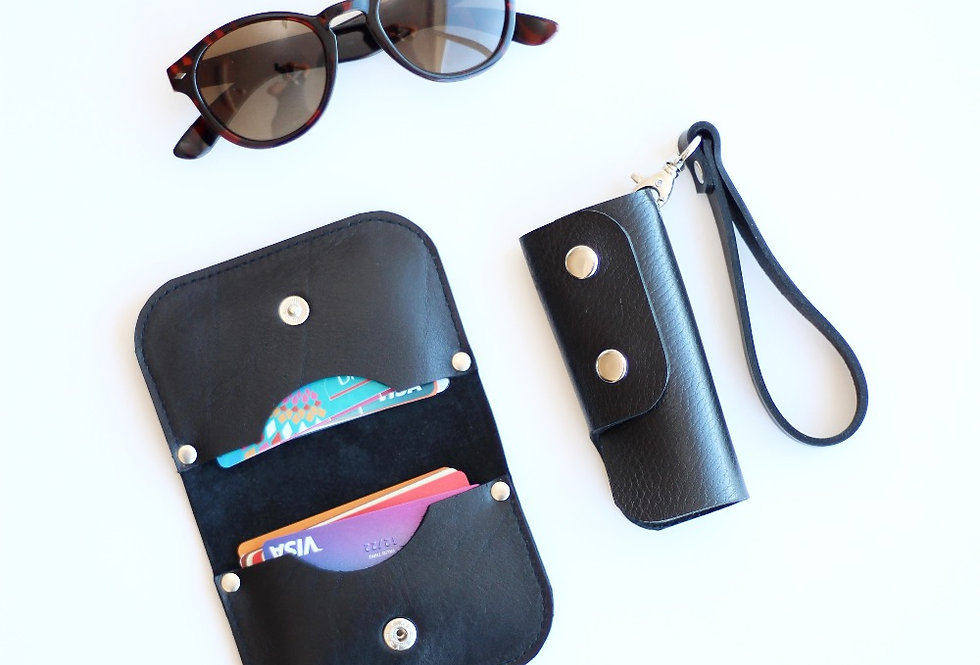 SUNDAY WALLET IN BLACK