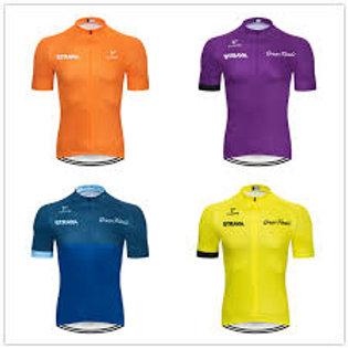 Strava Men Short Sleeve Sports Shirt