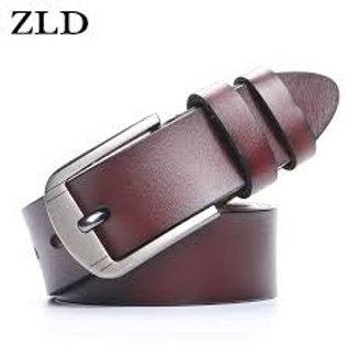ZLD Leather Men Belt