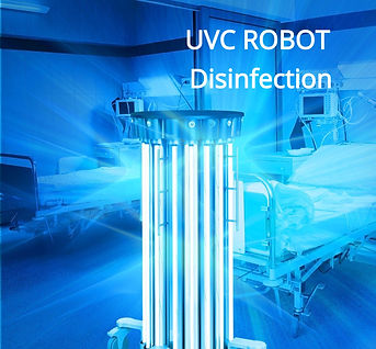 UVC Sterilization UVC Disinfection Robot