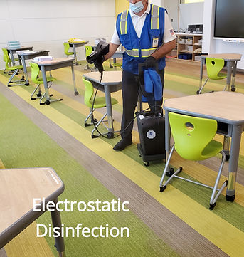 Electrostatic Disinfection Electrostatic Sanitizing