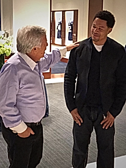 Terry Glenn Robert Kraft