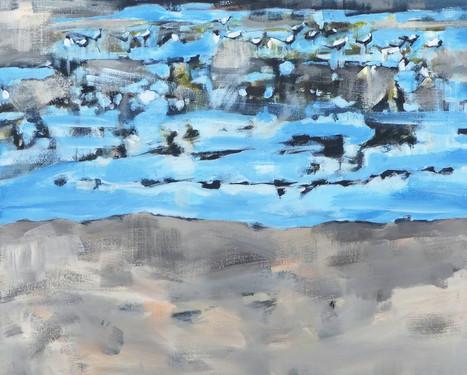 Wad met vogels - 1   2019
