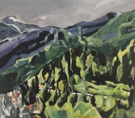 Berglandschap   2017