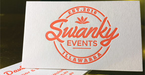 Swanky Business Cards