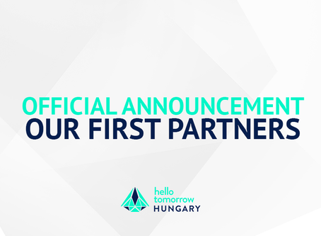 Official Announcement: Our first partners