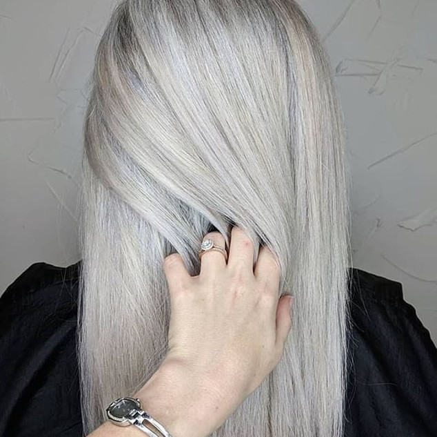 Grey Hair Blending