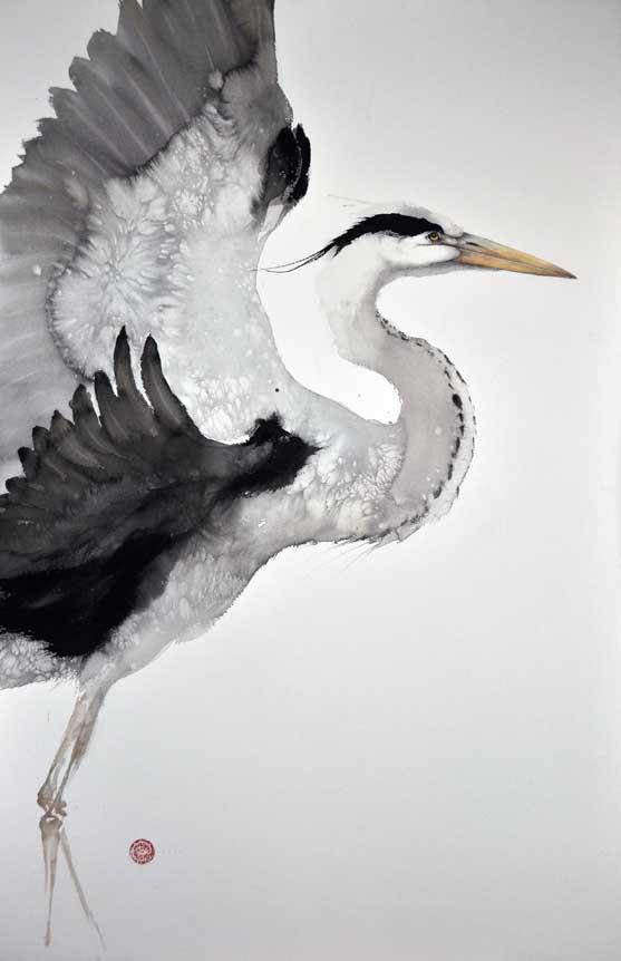 Calligrafia Zen, tiro con l'Arco giapponese e profondo amore per la Natura: l'Arte di Karl M