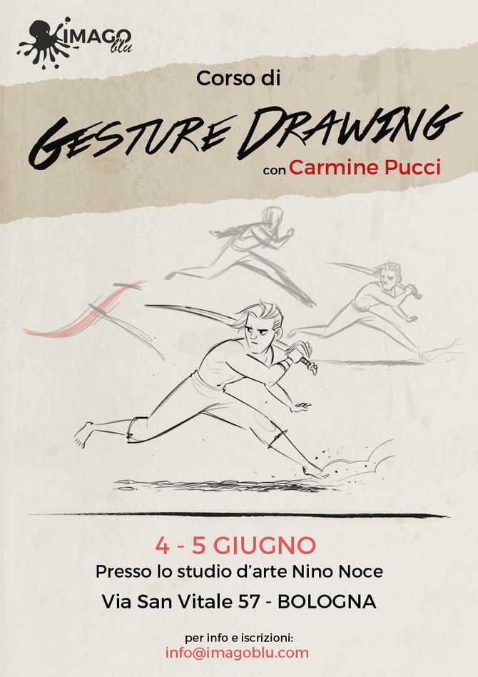 Corso di GESTURE DRAWING conCarmine Pucci