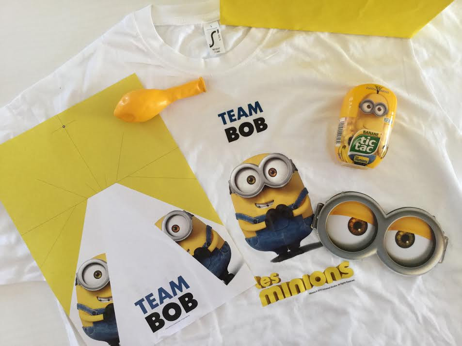 Il kit dei Minion: GO TEAM BOB!