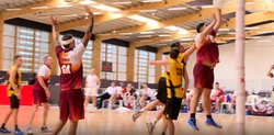 The big men of netball: the giants helping to grow the men's game