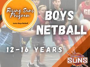 The Rising Suns Junior Boys Netball Program