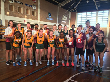 QLD Suns & South African Proteas