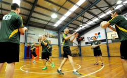 Aussie netball team trains in Coffs ahead of World Cup