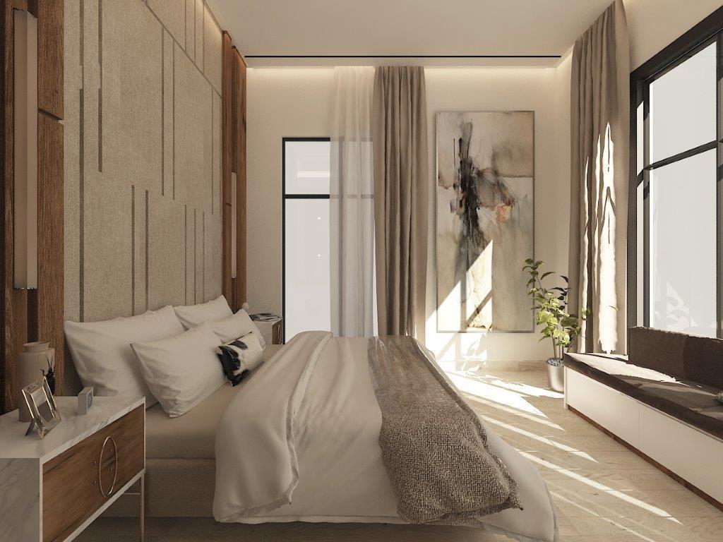غرفة النوم الماستر
