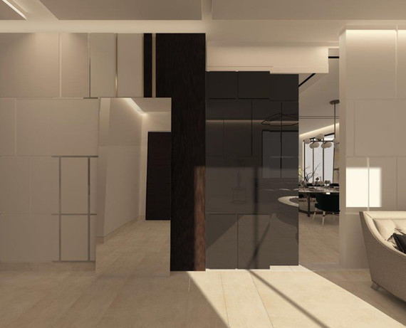 غرفة المعيشة العائلية