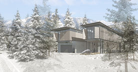 Concept West 2290 Nordic Drive, Whistler British Columbia, Canada. Exclusive design, contemporary architecture, modern mountain home, ski in and ski out, Whistler Blackcomb, Creekside