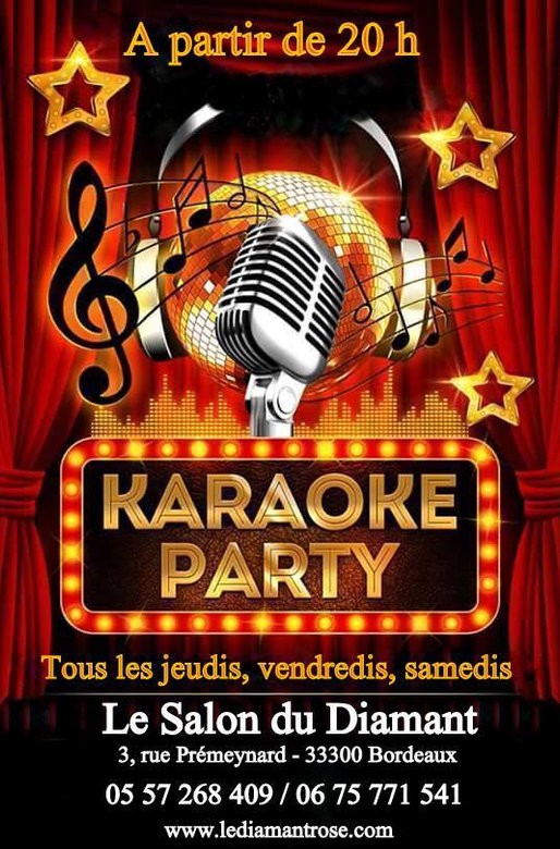 KARAOKE au SALON DU DIAMANT