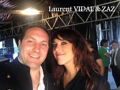 Laurent VIDAL et ZAZ