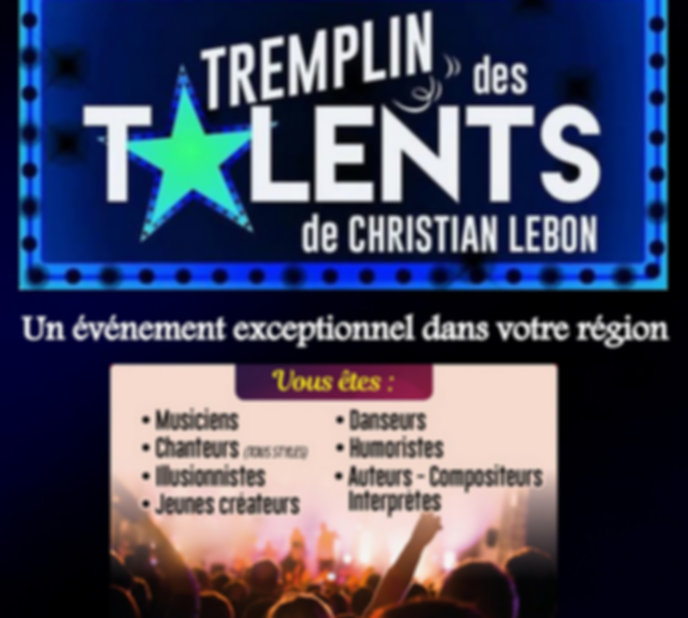 TREMPLIN DES TALENTS 2018