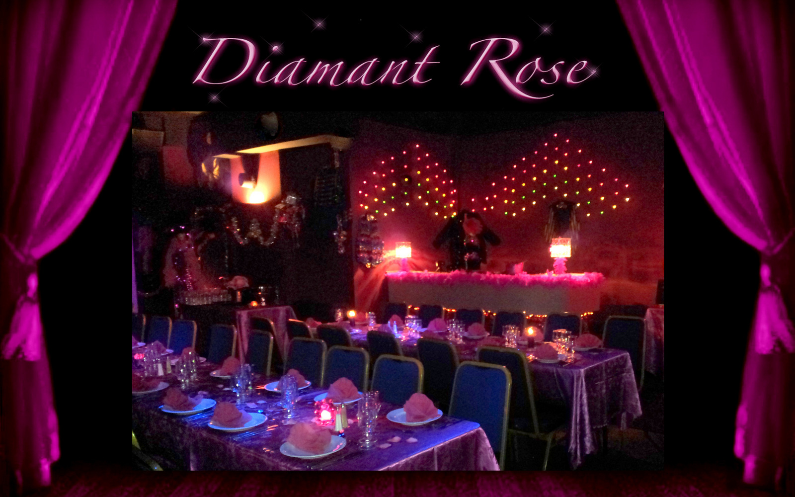 Restaurant Spectacle Le Diamant Rose