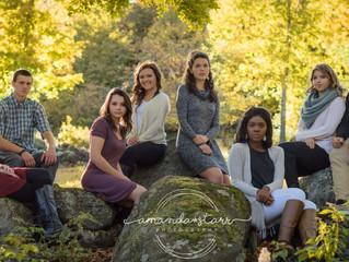 Senior Model Team Fall Foliage Session