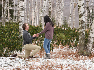 Vermont Proposal Photo Shoot