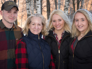 Great Energy with Gail Ovitt and Her Lovely Family!