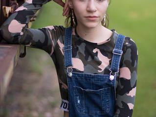 Model Shoot in Newport