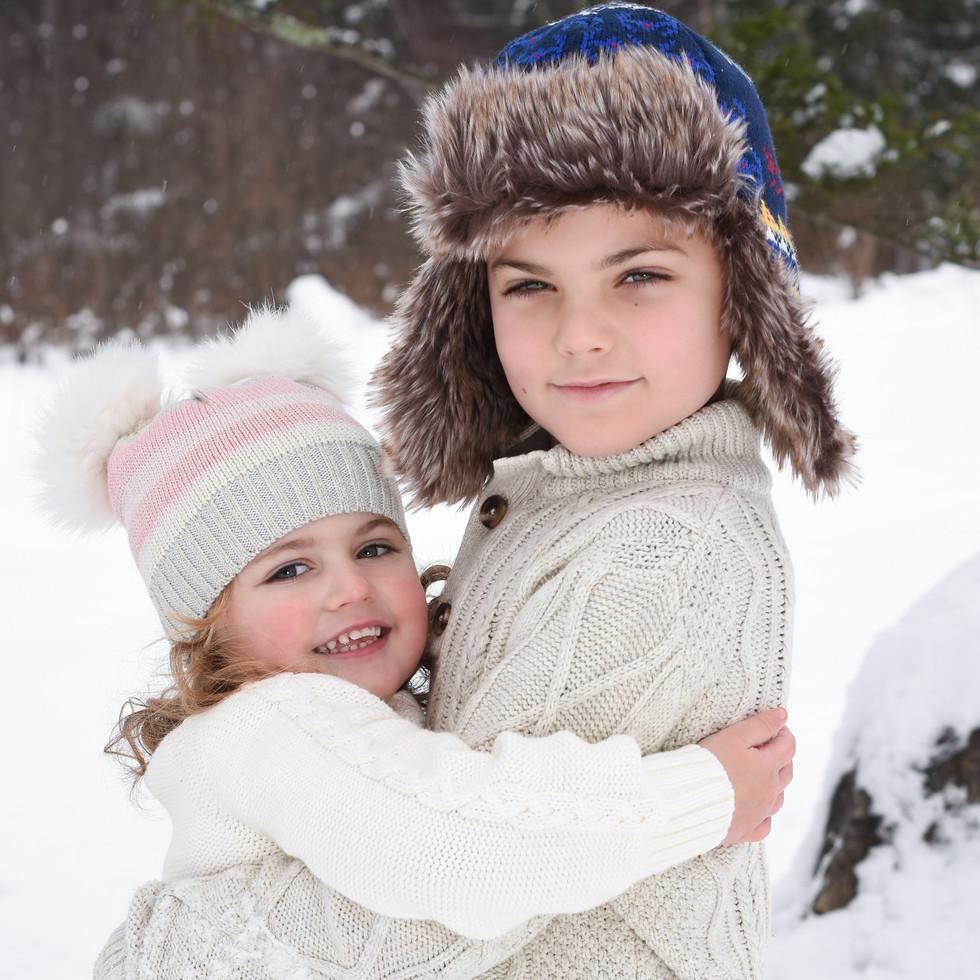 children-winter-magic-portrait