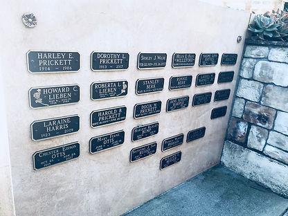 cenotaph wall