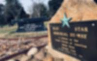 Blue Star memorial lawn