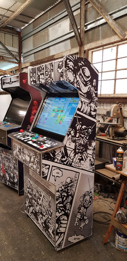 Custom Ninja Turtles Arcade