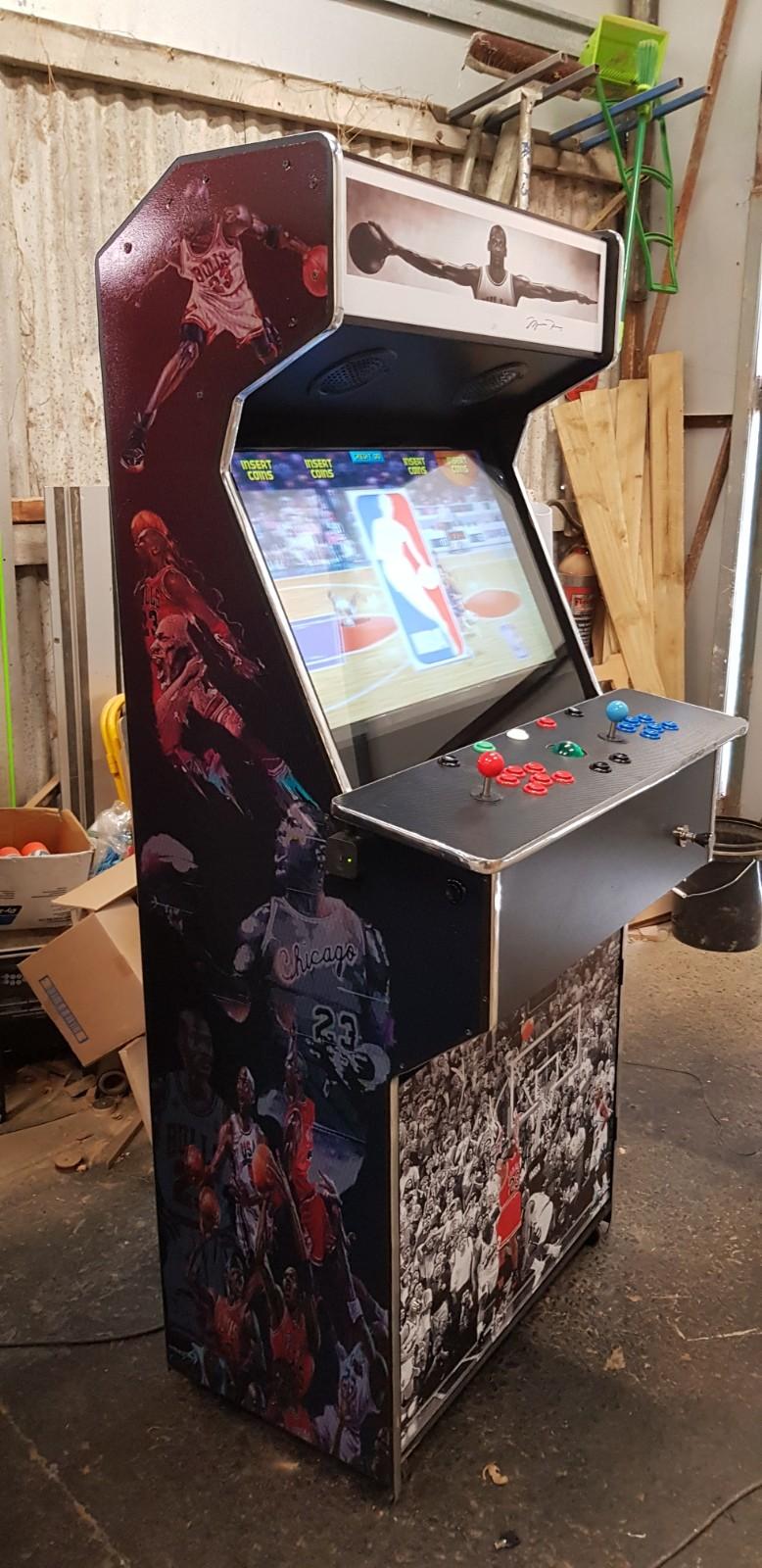 Custom NBA Arcade Cabinet