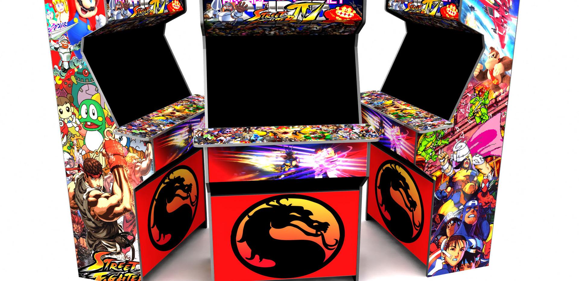 Arcade Character Mashup
