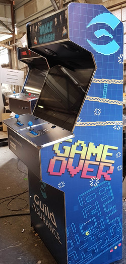 Custom promotional arcade
