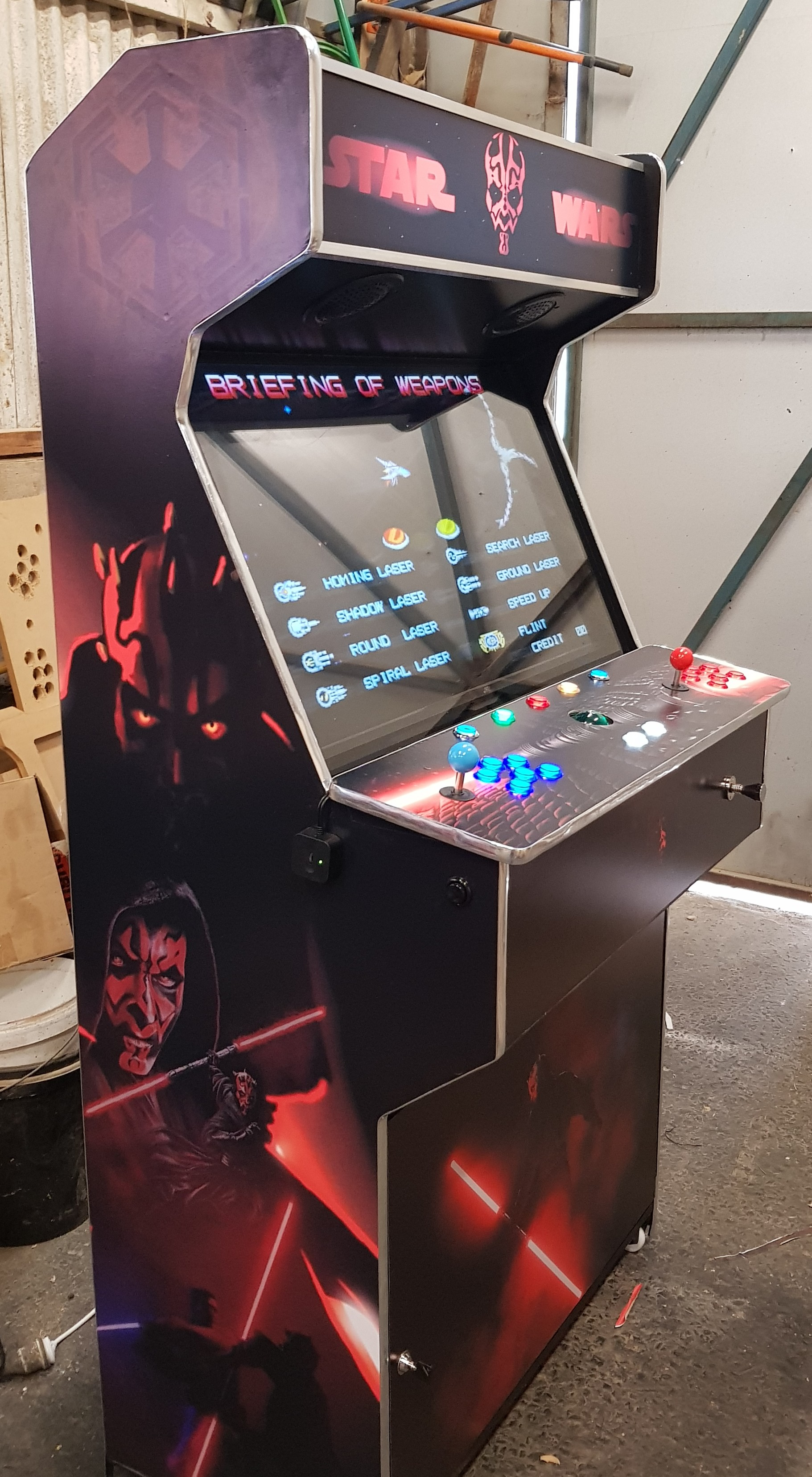 Star Wars Sith Lord Arcade