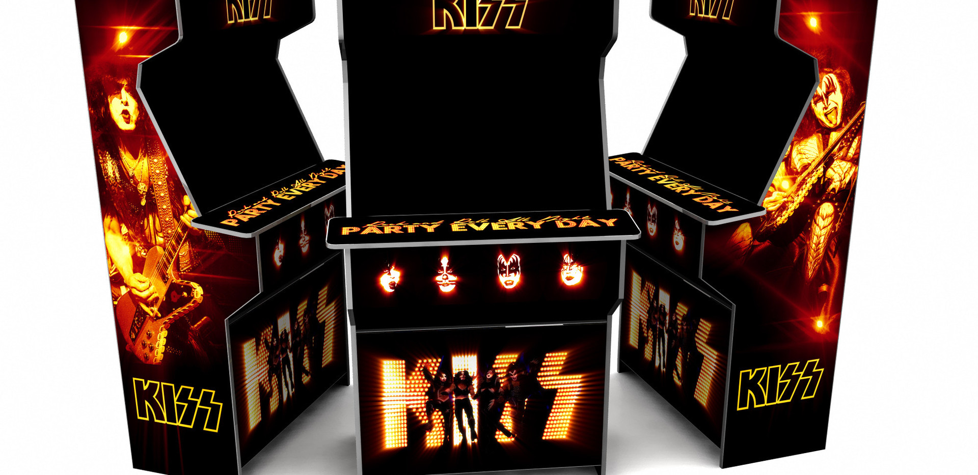 KISS Arcade machine
