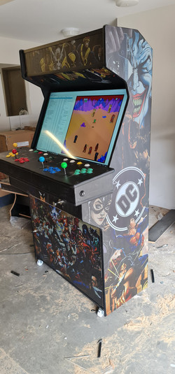 Marvel vs DC arcade