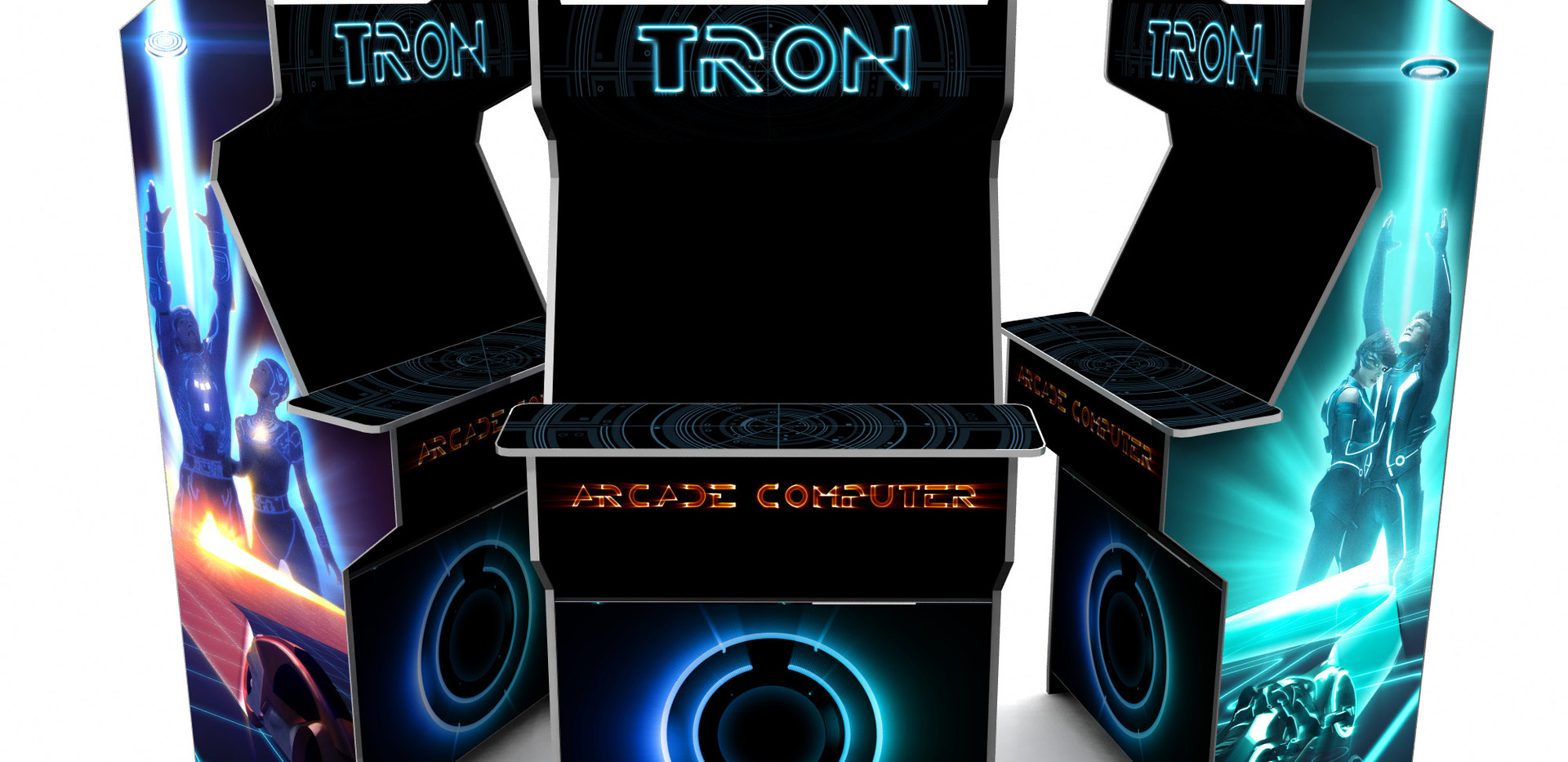 Tron Arcade machine