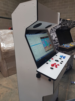 Custom arcade machine